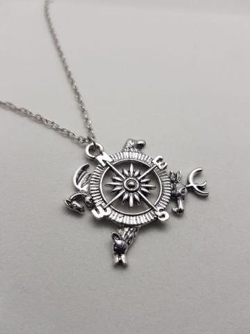 Game of Thrones Compass Pendant